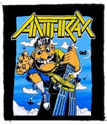 ANTHRAX: King Not Man (80x95) (felvarró)