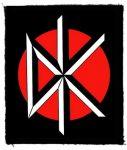DEAD KENNEDYS: Logo (80x95) (felvarró)