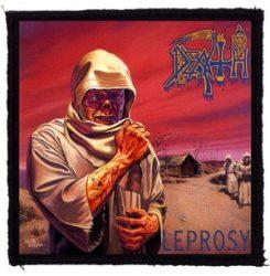 DEATH: Leprosy (95x95) (felvarró)
