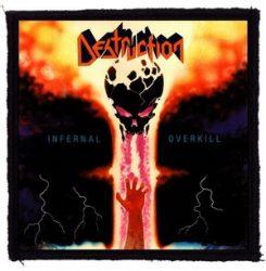 DESTRUCTION: Infernal Overkill (95x95) (felvarró)