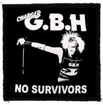 GBH: No Survivors (95x95) (felvarró)