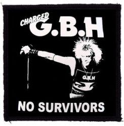 GBH: No Survivors (95x95) (felvarró)