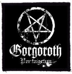 GORGOROTH: Pentagram (95x95) (felvarró)