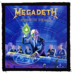 MEGADETH: Rust In Peace (95x95) (felvarró)