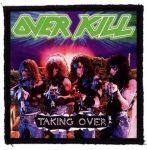 OVERKILL: Taking Over (95x95) (felvarró)