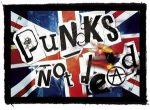 PUNKS NOT DEAD - Flag (95x65) (felvarró)