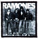 RAMONES: Band (95x95) (felvarró)