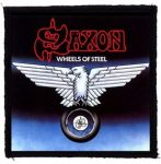 SAXON: Wheels Of Steel (95x95) (felvarró)