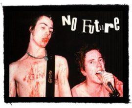 SEX PISTOLS: No Future (95x75) (felvarró)