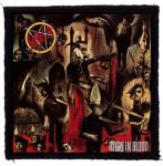 SLAYER: Reign In Blood (95x95) (felvarró)