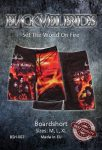 BLACK VEIL BRIDES: Set The World On Fire (boardshort, nadrág) (akciós!)
