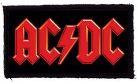 AC/DC: Logo (95x45) (felvarró)