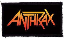 ANTHRAX: Logo (95x45) (felvarró)