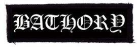 BATHORY: Logo (110x30) (felvarró)