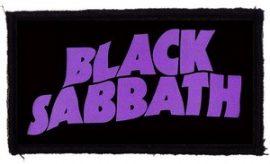 BLACK SABBATH: Logo (95x45) (felvarró)