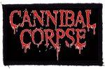 CANNIBAL CORPSE: Logo (95x60) (felvarró)