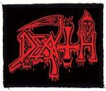 DEATH: Logo (95x80) (felvarró)
