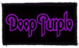 DEEP PURPLE: Logo (95x45) (felvarró)