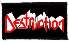 DESTRUCTION: Logo (95x45) (felvarró)