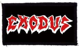 EXODUS: Logo (95x45) (felvarró)