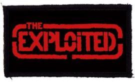 EXPLOITED: Logo (95x45) (felvarró)