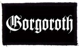 GORGOROTH: Logo (95x45) (felvarró)
