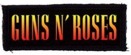 GUNS N' ROSES: Logo (95x35) (felvarró)