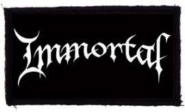 IMMORTAL: Logo (95x45) (felvarró)