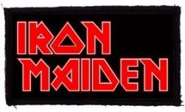 IRON MAIDEN: Logo (95x45) (felvarró)
