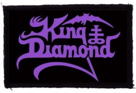 KING DIAMOND: Logo (95x65) (felvarró)
