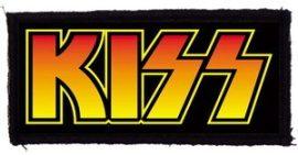 KISS: Logo (105x45) (felvarró)