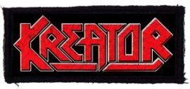 KREATOR: Logo (115x45) (felvarró)