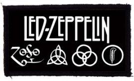 LED ZEPPELIN: Logo (95x47) (felvarró)