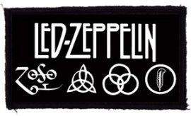 LED ZEPPELIN: Logo (95x45) (felvarró)
