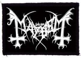 MAYHEM: Logo (95x65) (felvarró)