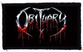 OBITUARY: Logo (95x55) (felvarró)