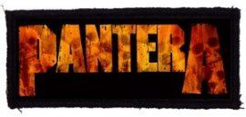 PANTERA: Logo (95x40) (felvarró)