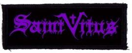 SAINT VITUS: Logo (115x35) (felvarró)