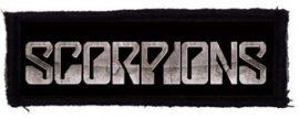 SCORPIONS: Logo (95x35) (felvarró)