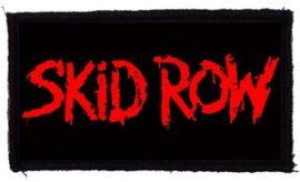 SKID ROW: Logo (95x45) (felvarró)