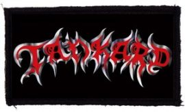 TANKARD: Logo (95x45) (felvarró)