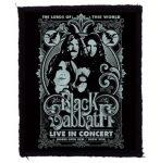 BLACK SABBATH: Lords (75x95) (felvarró)