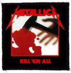 METALLICA: Kill Em All (95x95) (felvarró)