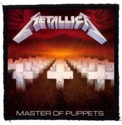 METALLICA: Master Of Puppets (95x95) (felvarró)