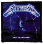 METALLICA: Ride The Lightning (95x95) (felvarró)