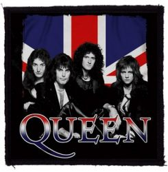 QUEEN: Britain (95x95) (felvarró)