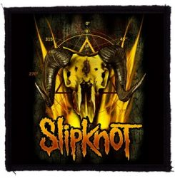 SLIPKNOT: Goat Skull (95x95) (felvarró)