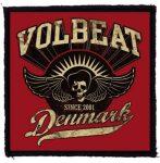 VOLBEAT: Denmark (95x95) (felvarró)