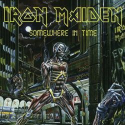 IRON MAIDEN: Somewhere In Time (LP, black, 2014)