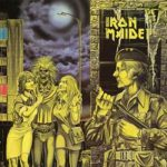 IRON MAIDEN: Women In Uniform/Invasion (LP, single)